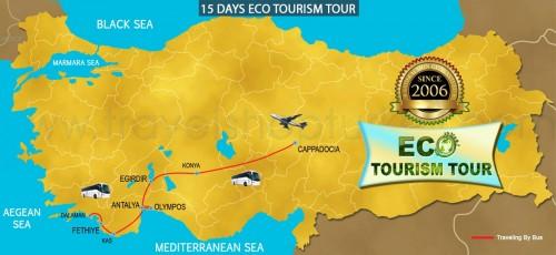 15 DAY ECO TOURISM TOUR TURKEY