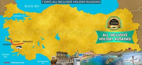7 DAY ALL INCLUSIVE HOLIDAY KUSADASI