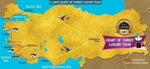 15 DAY HEART OF TURKEY LUXURY TOUR