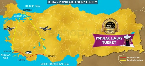 9 DAY POPULAR LUXURY TURKEY TOUR