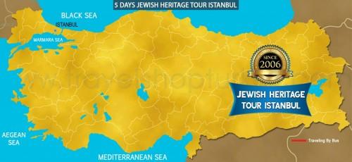 5 DAY  JEWISH HERITAGE TOUR ISTANBUL