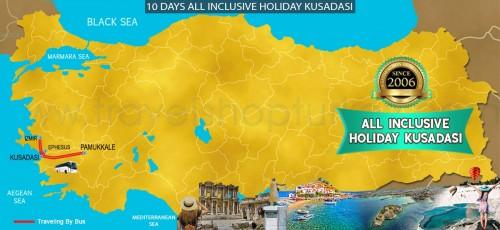10 DAY ALL INCLUSIVE HOLIDAY KUSADASI