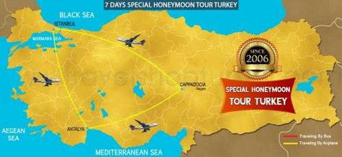 7 DAY SPECIAL HONEYMOON TOUR TURKEY