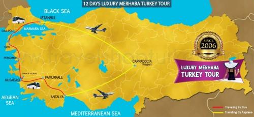 12 DAY LUXURY MERHABA TURKEY TOUR