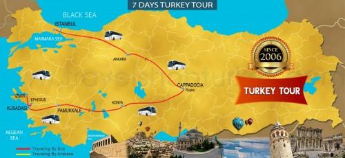 7 DAY TURKEY ASIAN SPECIAL TOUR