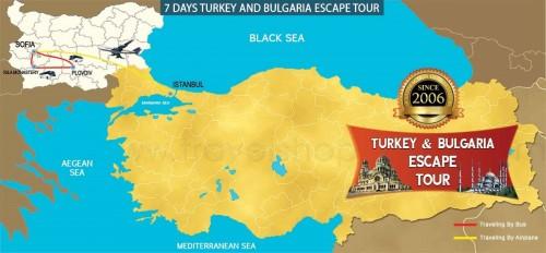 7 DAY TURKEY AND BULGARIA ESCAPE TOUR