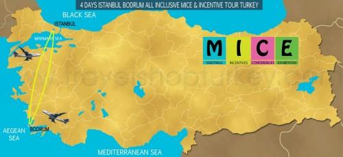 4 DAY ISTANBUL - BODRUM ALL INCLUSIVE M.I.C.E TOUR TURKEY (2020-2021-2022)