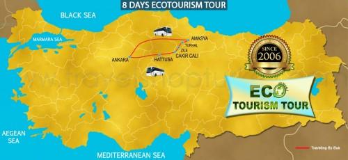 8 DAY ECOTOURISM TURKEY TOUR