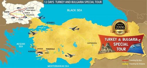 12 DAY TURKEY AND BULGARIA SPECIAL TOUR
