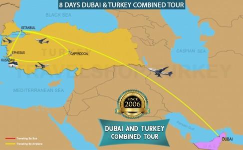 8 DAY DUBAI - TURKEY COMBINED TOUR