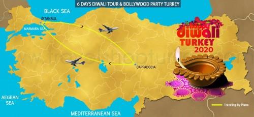 6 DAY  DIWALI TOUR  BOLLYWOOD PARTY