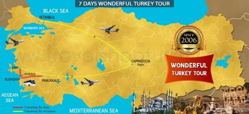 7 DAY WONDERFUL TURKEY ASIAN SPECIAL TOUR