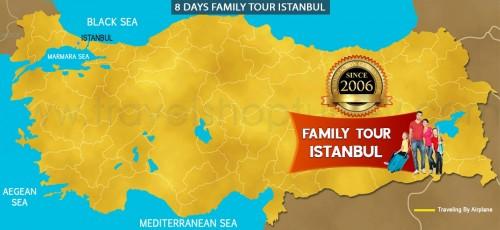 8 DAY FAMILY TOUR ISTANBUL