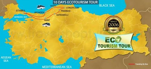 10 DAY ECOTOURISM TOUR TURKEY