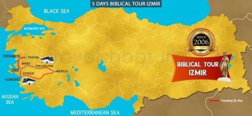 5 DAY  BIBLICAL TOUR IZMIR