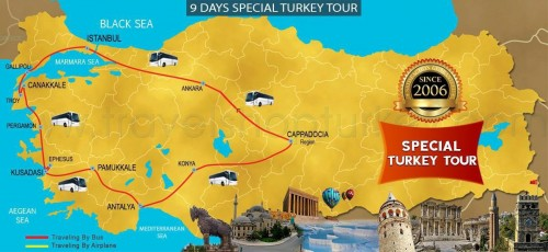 9 DAY TURKEY ASIAN SPECIAL TOUR