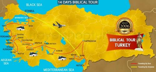 14 DAY BIBLICAL TOUR TURKEY