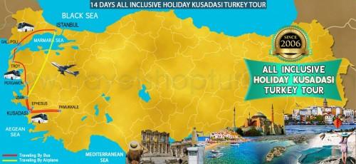 14 DAY ALL INCLUSIVE HOLIDAY KUSADASI TURKEY TOUR