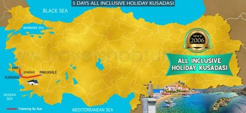 5 DAY ALL INCLUSIVE HOLIDAY KUSADASI