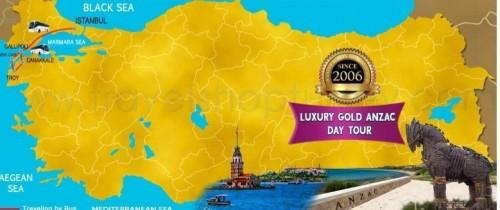 5 DAY LUXURY GOLD ANZAC TOUR 2021
