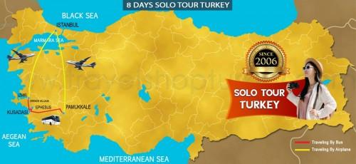 8 DAY SOLO TURKEY TOUR