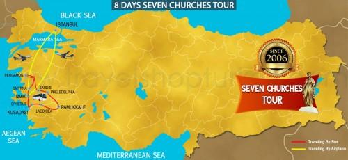 8 DAY  SEVEN CHURCHES OF REVELATION TOUR