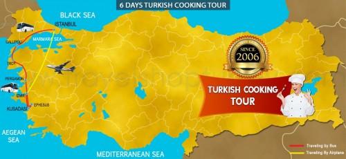 6 DAY TURKISH COOKING TOUR