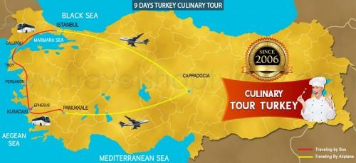 9 DAY TURKEY CULINARY TOUR