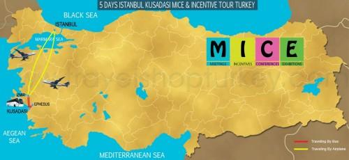 5 DAY ISTANBUL - KUSADASI ALL INCLUSIVE M.I.C.E TOUR TURKEY (2020-2021-2022)