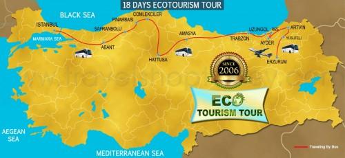 18 DAY ECOTOURISM TOUR TURKEY
