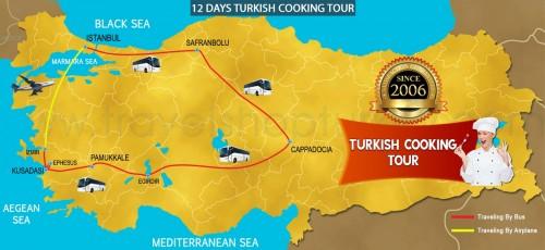 12 DAY TURKISH COOKING TOUR