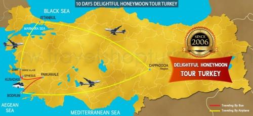 10 DAY DELIGHTFUL HONEYMOON TOUR TURKEY