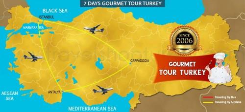 7 DAY GOURMET TOUR TURKEY