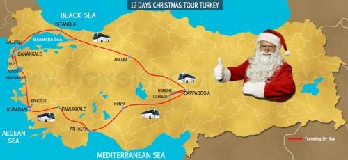 12 DAY  CHRISTMAS TOUR TURKEY 2020