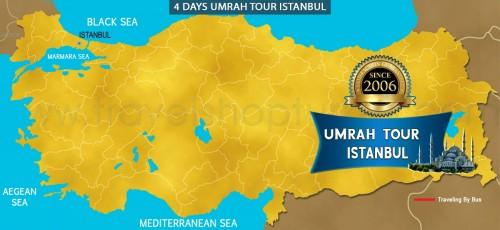 4 DAY UMRAH TOUR ISTANBUL
