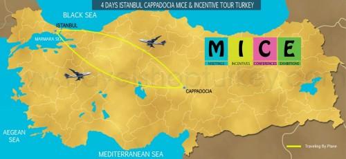 4 DAY ISTANBUL - CAPPADOCIA ALL INCLUSIVE M.I.C.E TOUR TURKEY (2020-2021-2022)