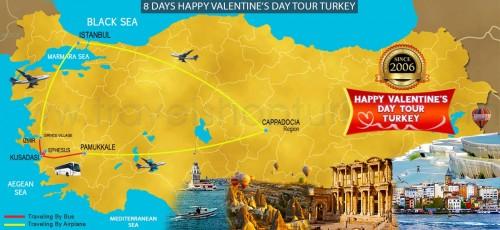 8 DAYS HAPPY VALENTINE'S DAY TOUR