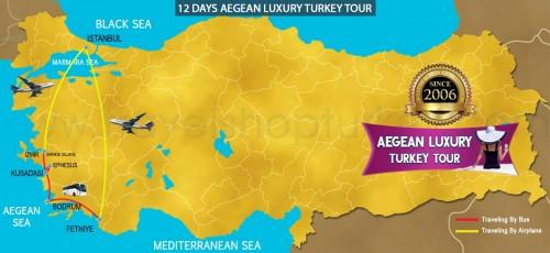 12 DAY AEGEAN LUXURY TURKEY TOUR
