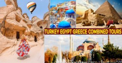 Turkey Egypt Greece Combined Tours